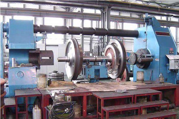 东西湖卧式轮轴压装机